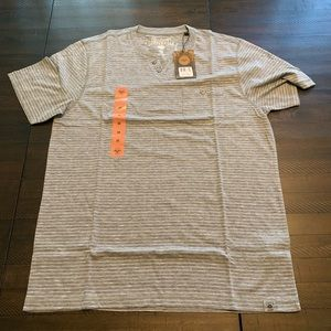 Other - Copper and Oak Short Sleeve Pocket Henley Tee